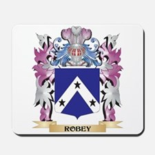 Robey Coat of Arms - Family Crest Mousepad
