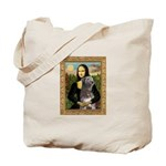 Mona / Irish Wolf Tote Bag