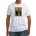 Mona / Irish Wolf Fitted T-Shirt