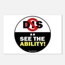 See the Ability! Postcards (Package of 8)