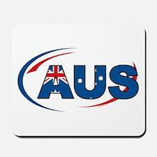 Country Code Australia Mousepad