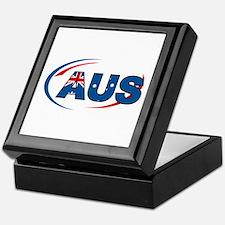 Country Code Australia Keepsake Box