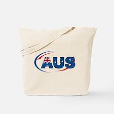 Country Code Australia Tote Bag
