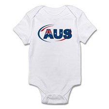 Country Code Australia Infant Bodysuit