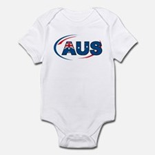 Country Code Australia Infant Bodysuit