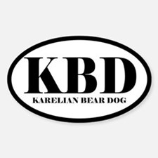 KBD Karelian Bear Dog Decal