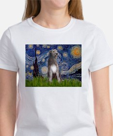 Starry/Irish Wolfhound Tee