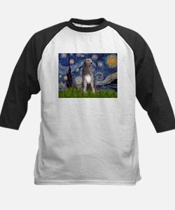 Starry/Irish Wolfhound Kids Baseball Jersey