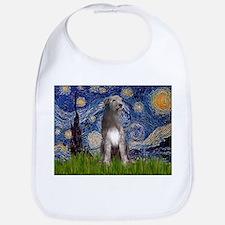 Starry/Irish Wolfhound Bib