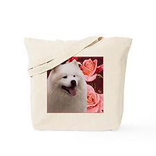Rosy Samoyed Sammy Tote Bag