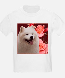 Rosy Samoyed Sammy T-Shirt