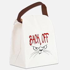 Cute Back Canvas Lunch Bag