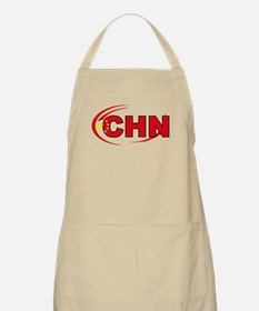 Country Code China BBQ Apron