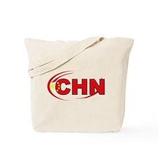 Country Code China Tote Bag