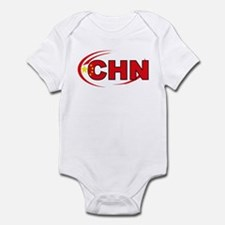 Country Code China Infant Bodysuit