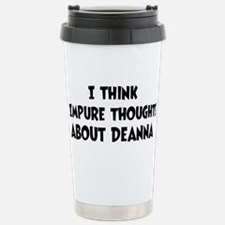 Unique Deanna Travel Mug