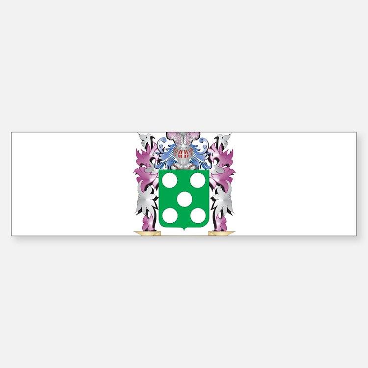 Roderick Coat of Arms - Family Cres Bumper Bumper Bumper Sticker