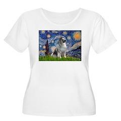 Starry / Keeshond T-Shirt