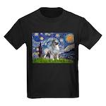 Starry / Keeshond Kids Dark T-Shirt