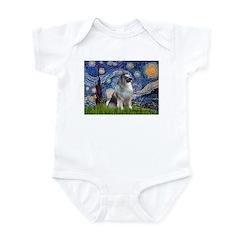 Starry / Keeshond Infant Bodysuit