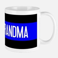 Police: Proud Grandma (The Thin Blue Li Mug