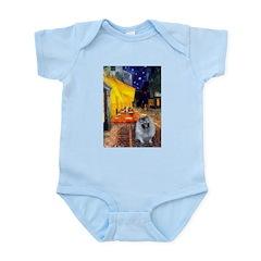 Cafe / Keeshond (F) Infant Bodysuit