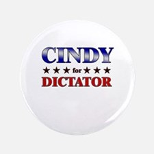 """CINDY for dictator 3.5"""" Button"""