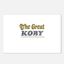 Koby Postcards (Package of 8)