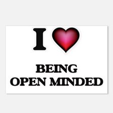 I Love Being Open-Minded Postcards (Package of 8)