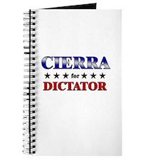 CIERRA for dictator Journal