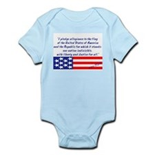 Pledge Circa 1924 Infant Creeper