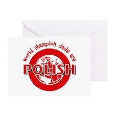 Polish Dads Greeting Card