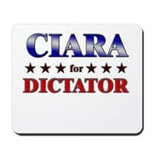 CIARA for dictator Mousepad