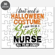 Nurse Halloween Puzzle