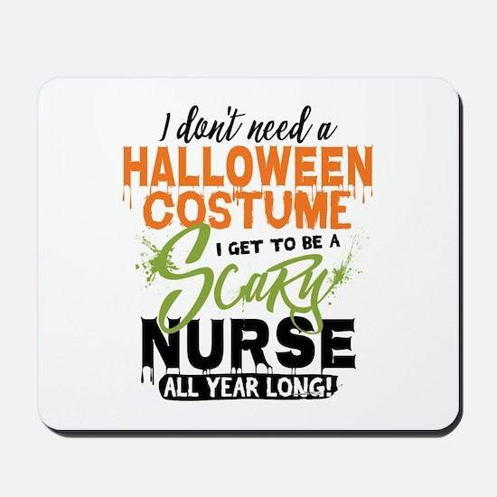 Nurse Halloween Mousepad