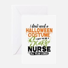 Nurse Halloween Greeting Card