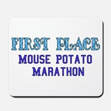 Mouse Potato Marathon Mousepad