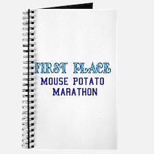Mouse Potato Marathon Journal
