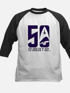 Star Trek 50 years Baseball Jersey