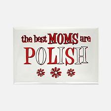 Polish Moms Rectangle Magnet