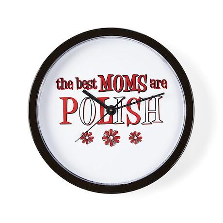 Polish Moms Wall Clock