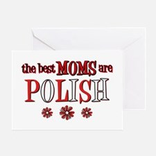 Polish Moms Greeting Card