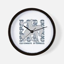 Cute Barnburner Wall Clock
