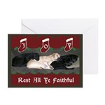 Faithful Labrador Retrievers Christmas Cards (10)
