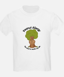 Peanut Allergy Bear T-Shirt