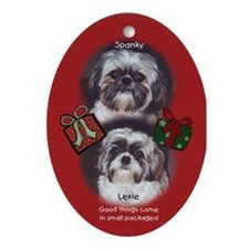 Lexie Spanky custom Ornament