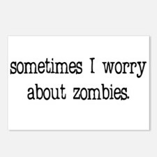 Sometimes I worry... Postcards (Package of 8)