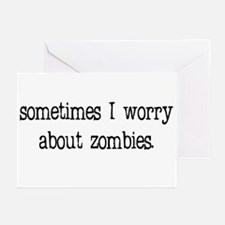 Sometimes I worry... Greeting Cards (Pk of 10)