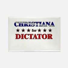 CHRISTIANA for dictator Rectangle Magnet