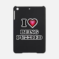 I Love Being Puzzled iPad Mini Case